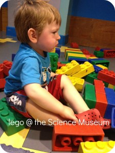 lego at the Science museum