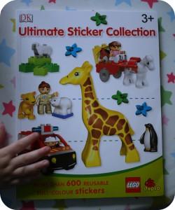 lego duplo sticker book