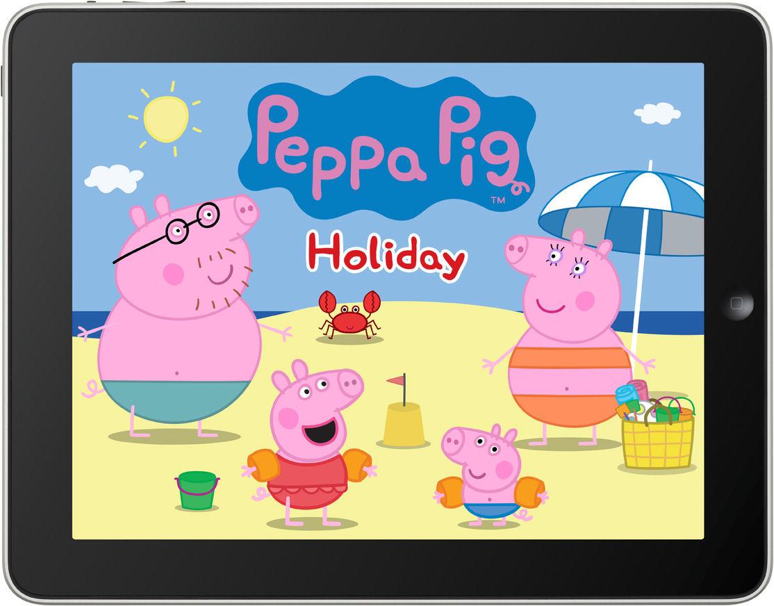 New Peppa Pig app: Peppa Pig Holiday
