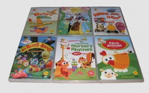 Baby TV dvds set