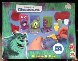 Monsters Inc crafts set