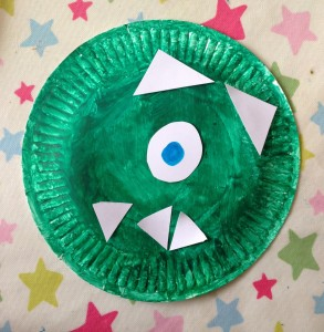 paper plate Mike