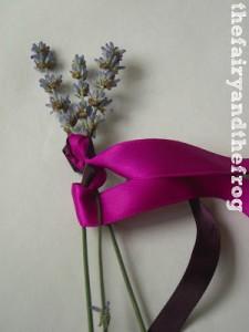 weaving lavender