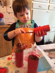 painting superworm