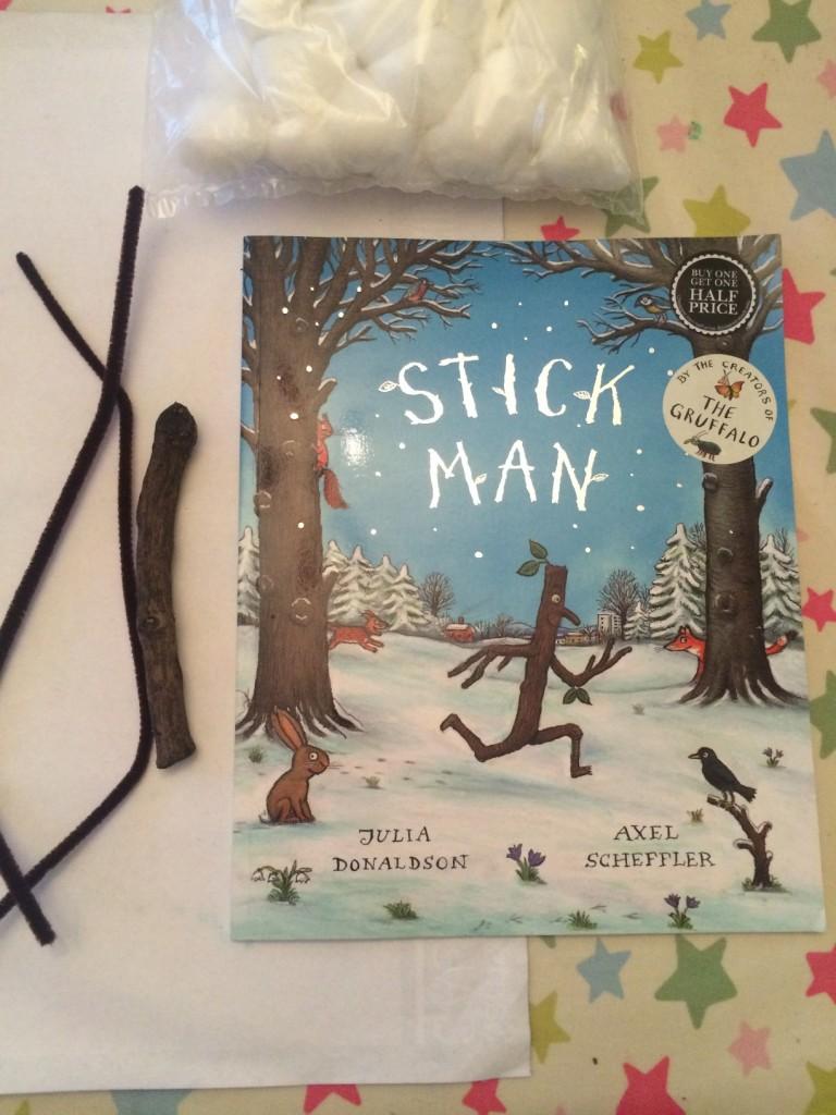 stick man crafting