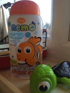 H&A Nemo bubble bath