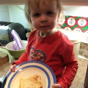 Hello Kitty pancakes