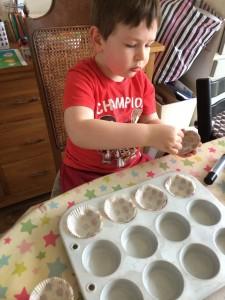 baking Gruffalo treats