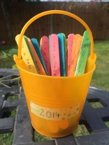 Summer bucket list - treading on lego