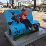 Julia Donaldson book bench