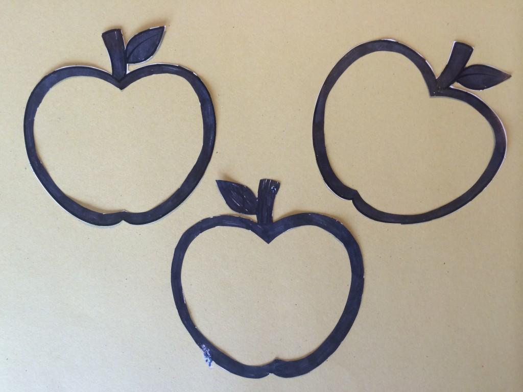 apple shapes