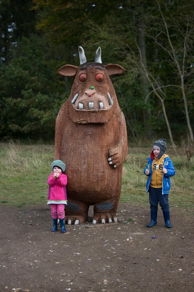 Gruffalo sculpture