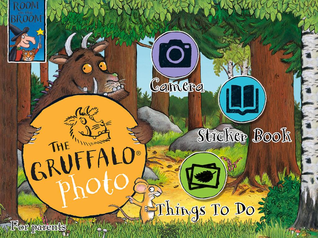 Gruffalo photo app