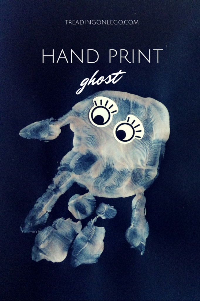 hand print ghost