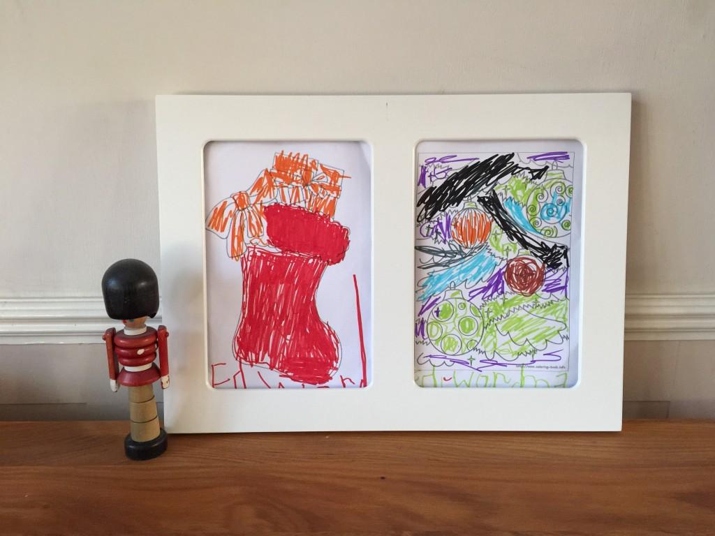 children's art frame