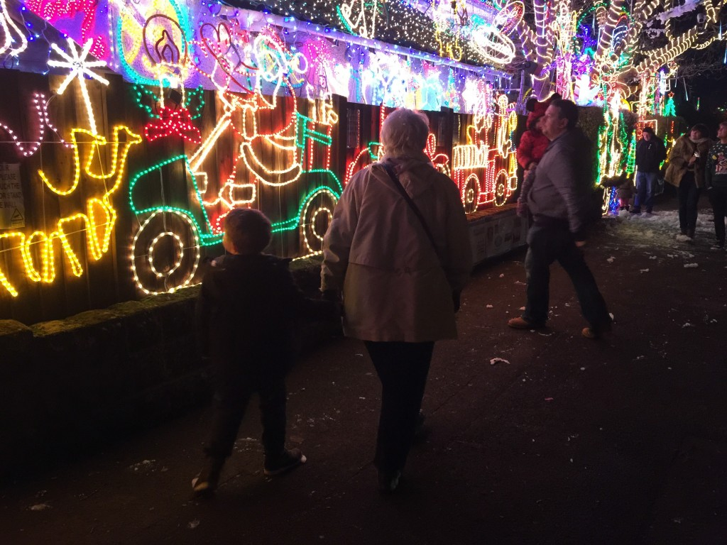 Christmas lights at Melksham