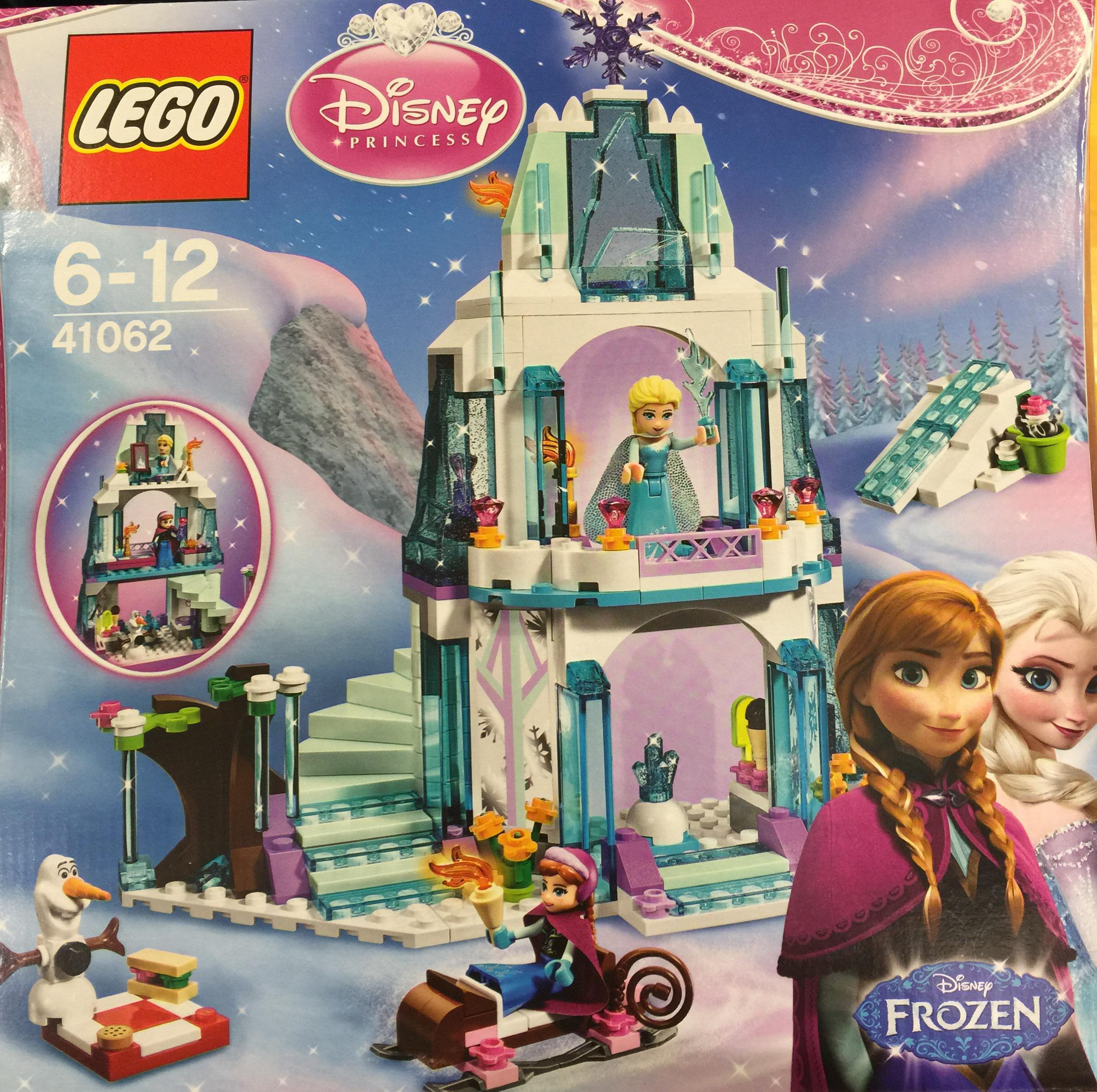 Lego Frozen Elsa's Sparkling Ice Castle