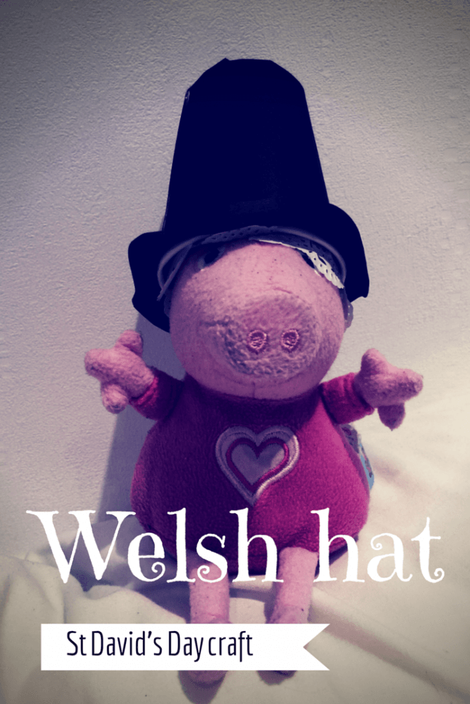 Welsh hat craft for St David's Day