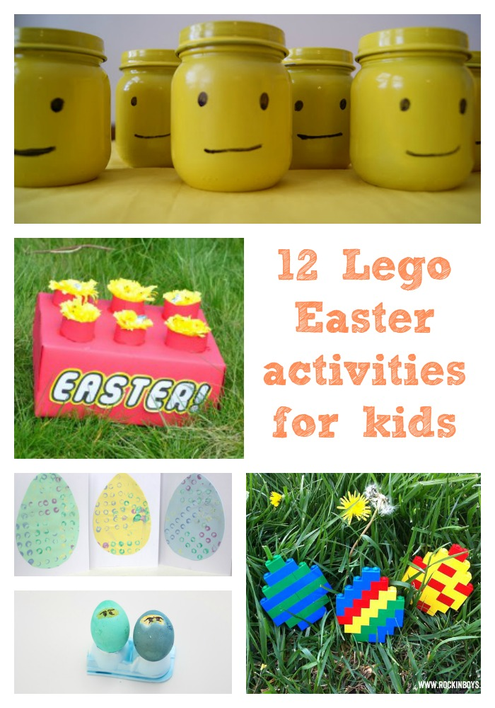 12 Lego Easter activities for kids