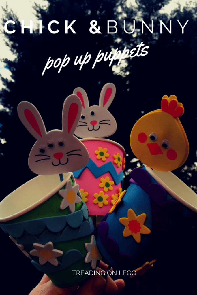 Easter pop up puppet