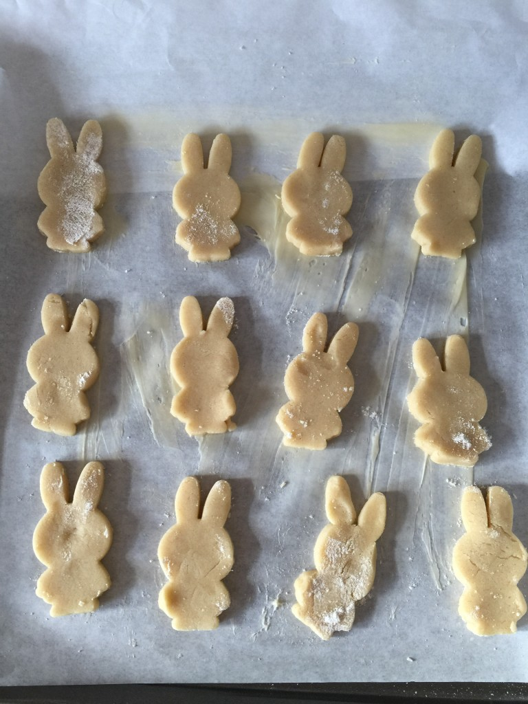 tray of Miffy biscuits