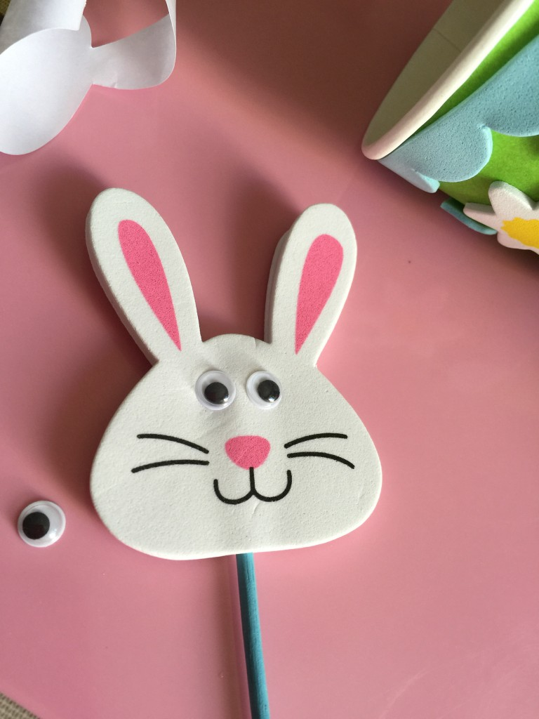 bunny pop up puppet kit