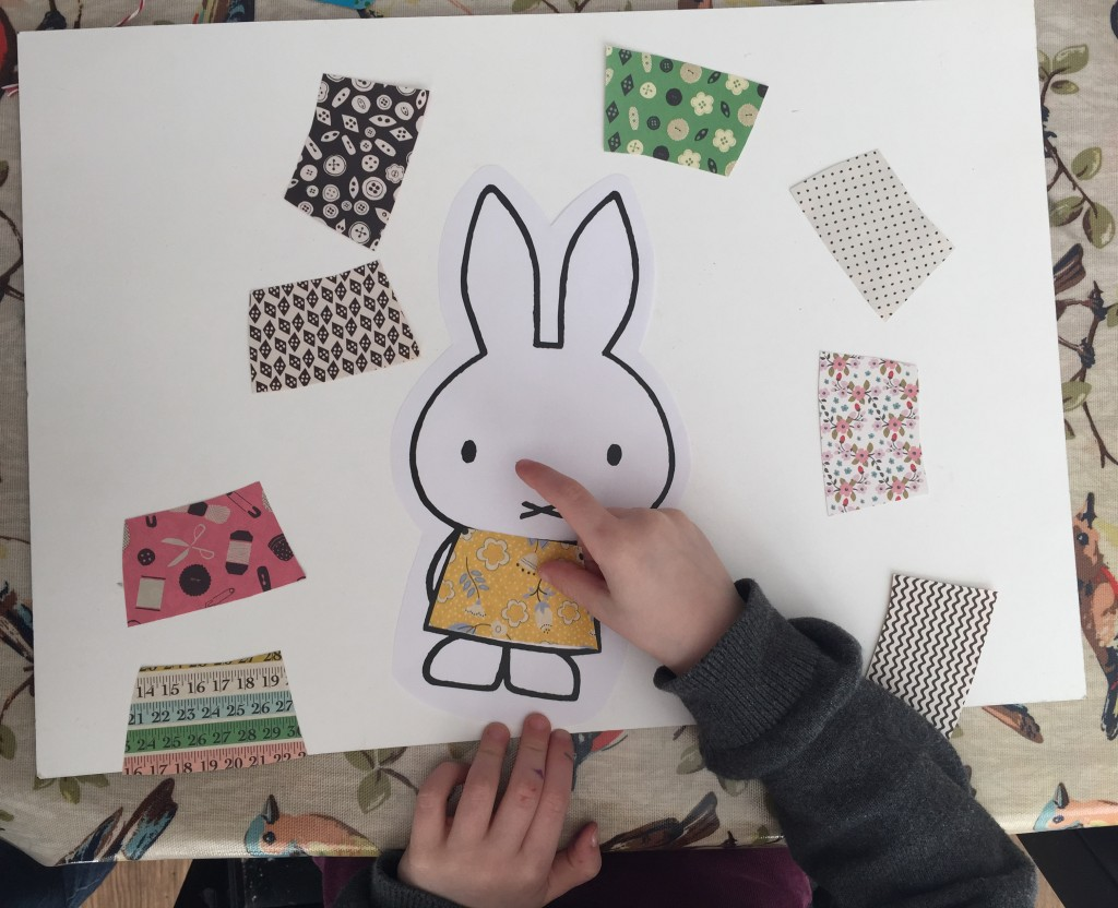 Miffy paper craft