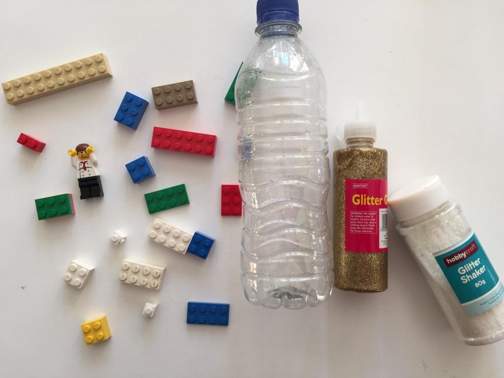 lego calm down bottle