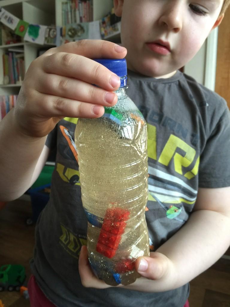 DIY lego bottle