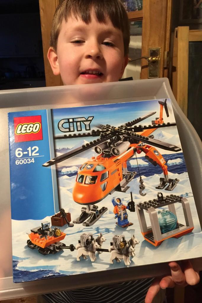 LEGO City Arctic Helicrane