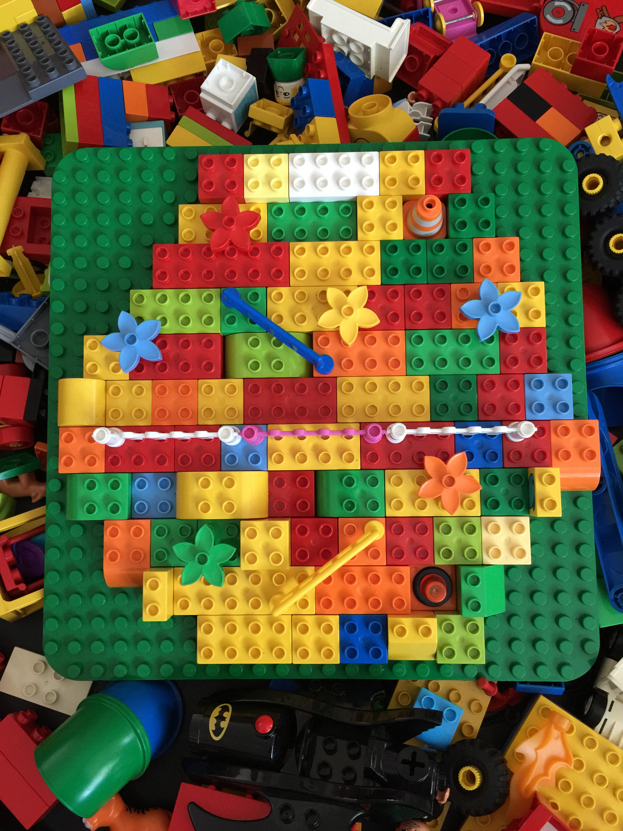 Using A Tuff Spot For Lego Play Treading On Lego