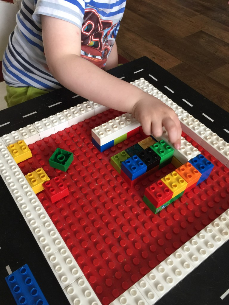 letter recognition with lego