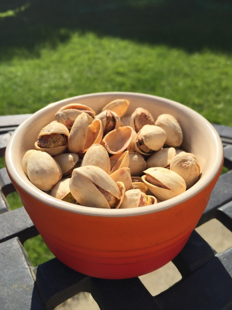 wonderful pistachios and almonds