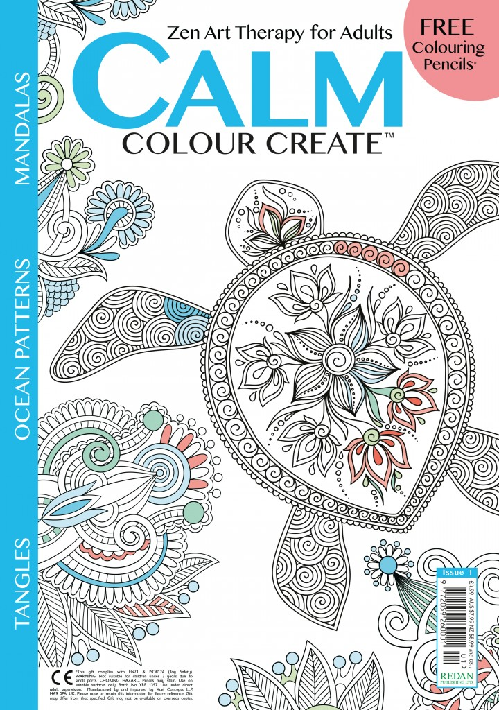 Calm, Colour, Create magazine