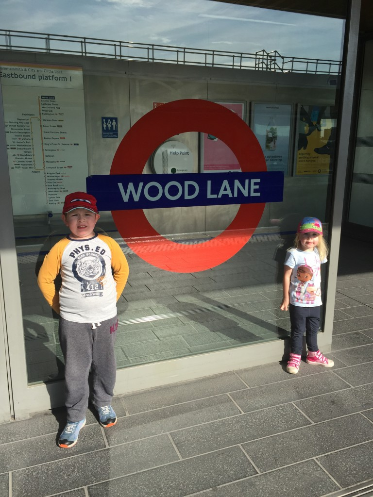 Wood Lane station
