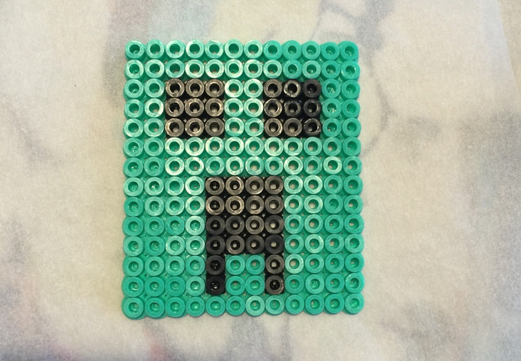 Hama bead Minecraft Creeper
