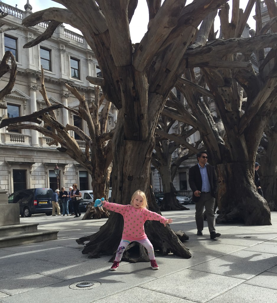 Tree by Ai Weiwei at the Royal Academy