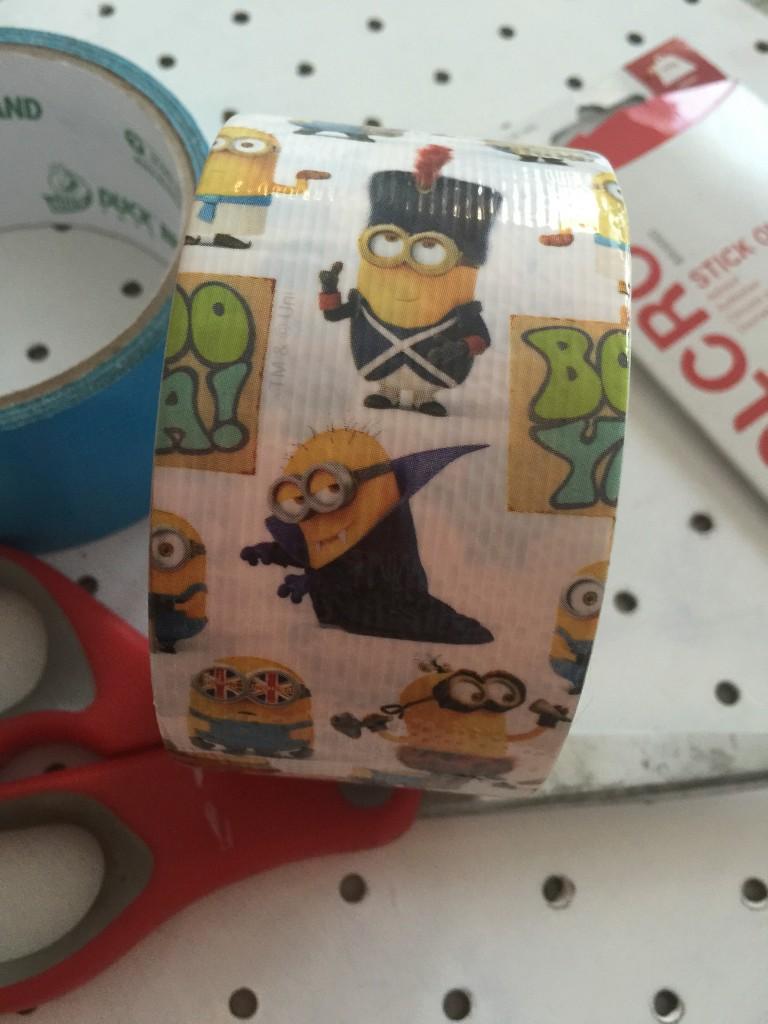 Minion Duck Tape