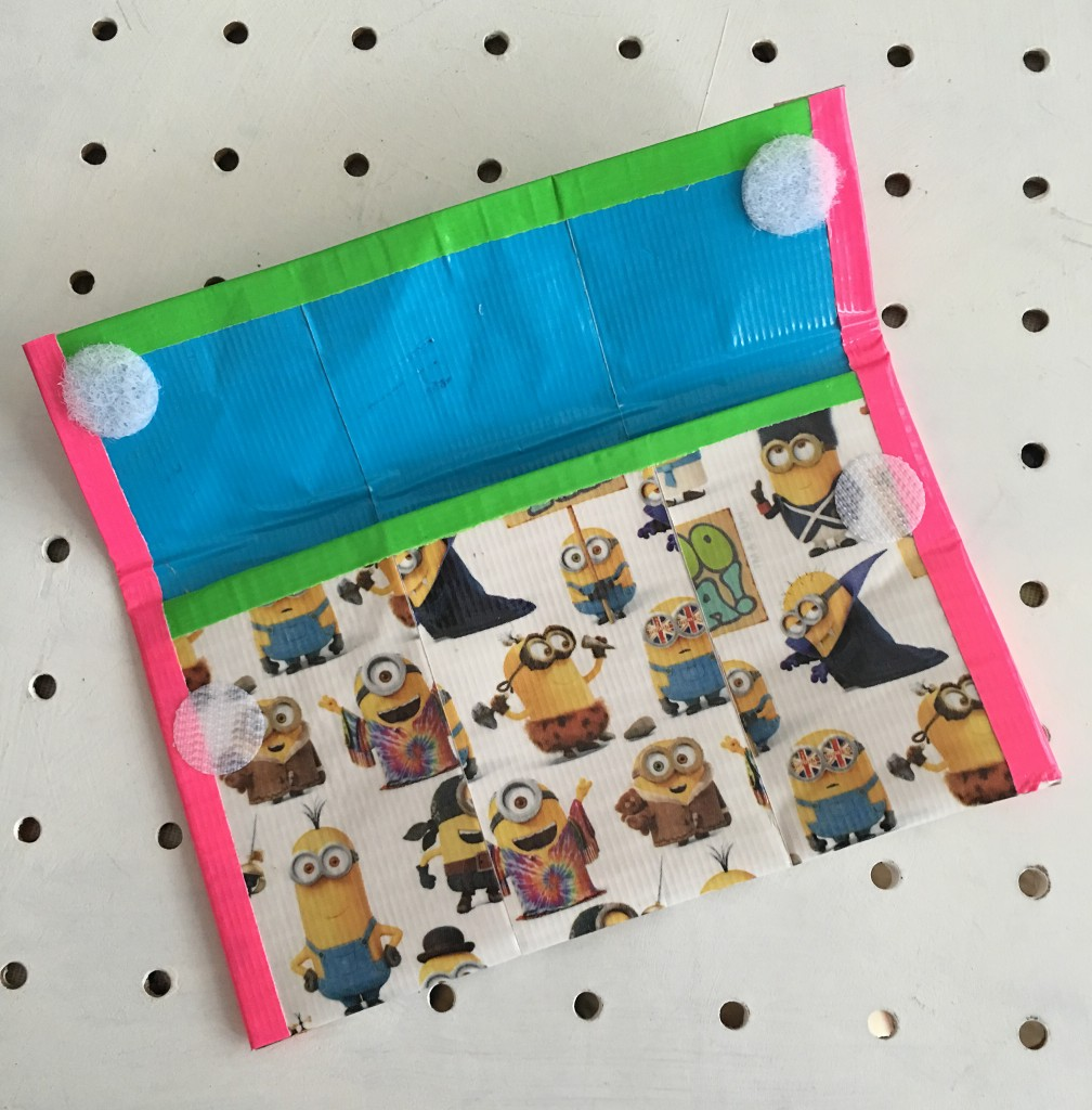 Duck Tape Minion wallet