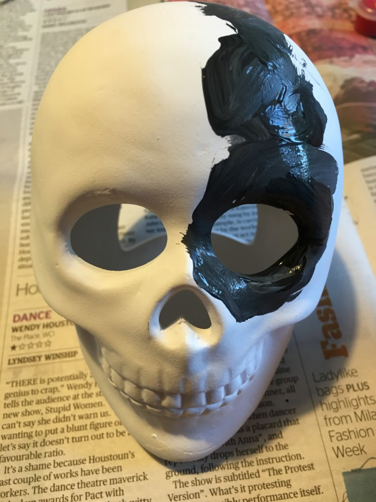 paint your own Halloween tealight holder
