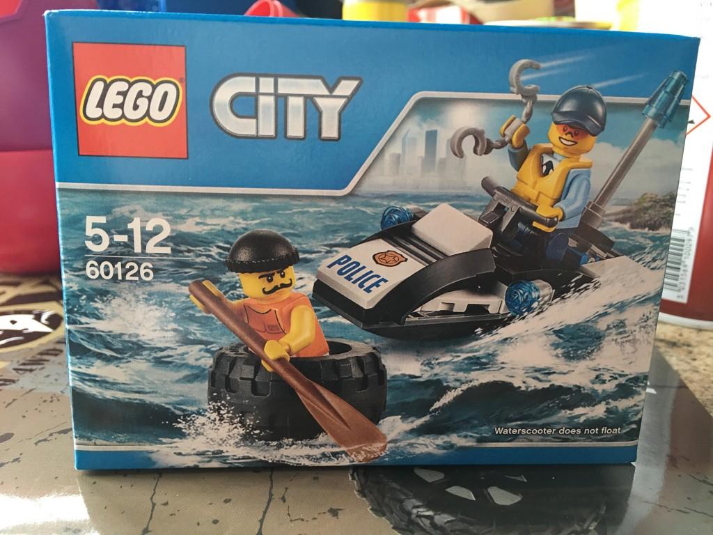 LEGO City Police Tyre Escape (60126)