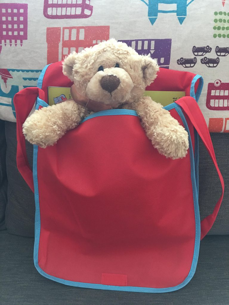 A visit from the Class Bear