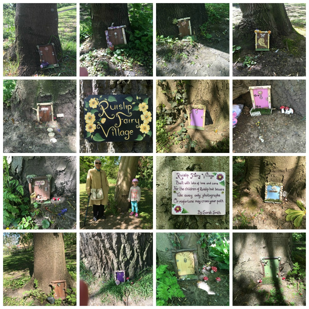 Ruislip Fairy Village pictures