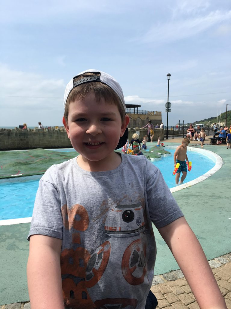 Isle of Wight paddling pool