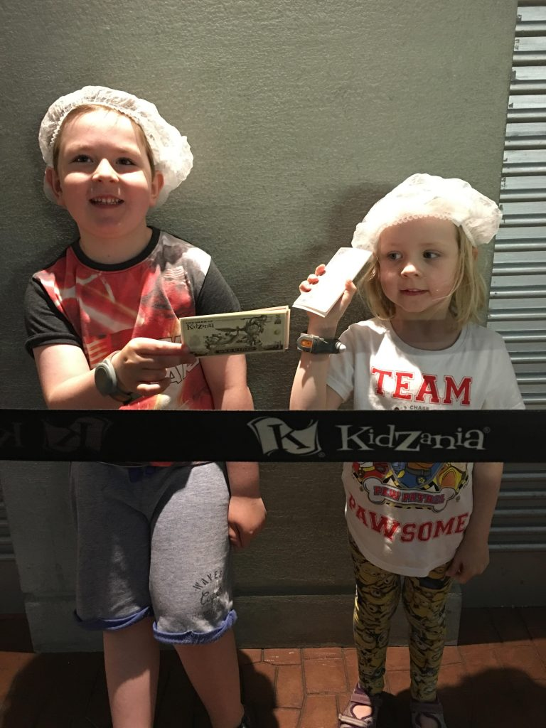 a trip to kidZania