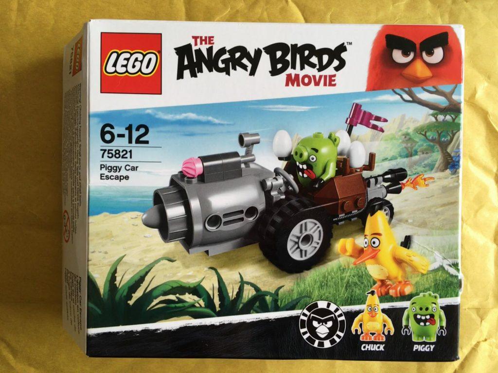 Lego Angry Birds Piggy Car Escape
