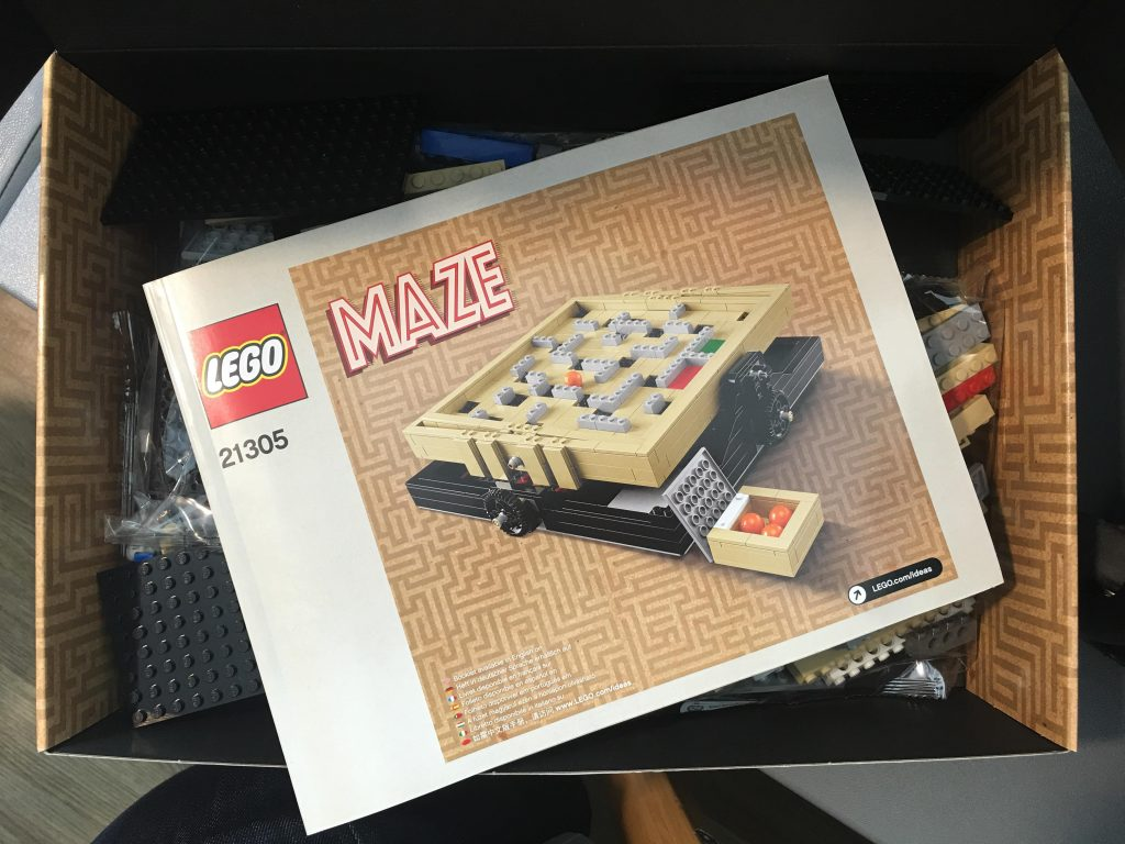 the Lego Maze 21305