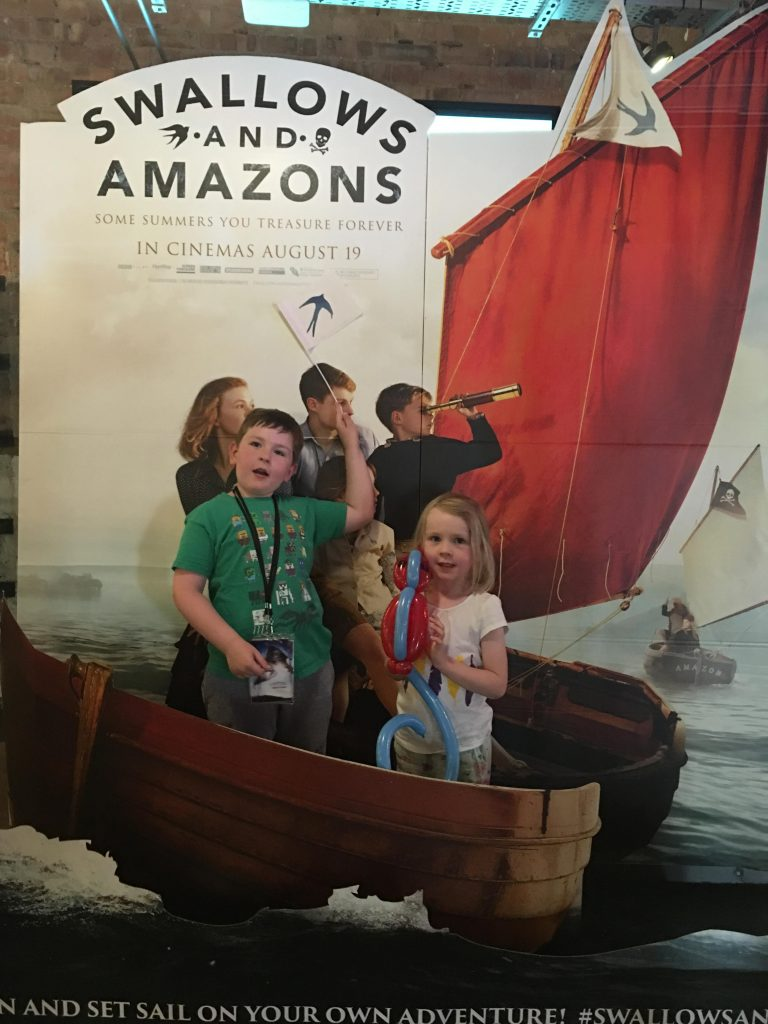 Swallows and Amazons film premier London