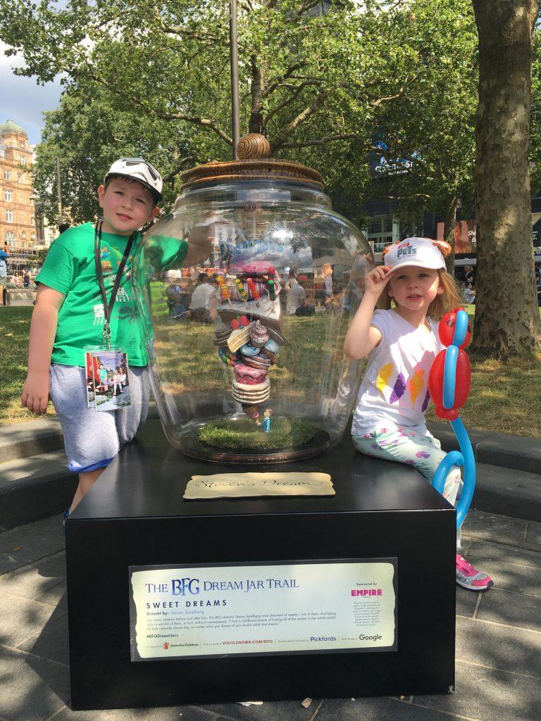 BFG Dream Jar Trail Leicester Square