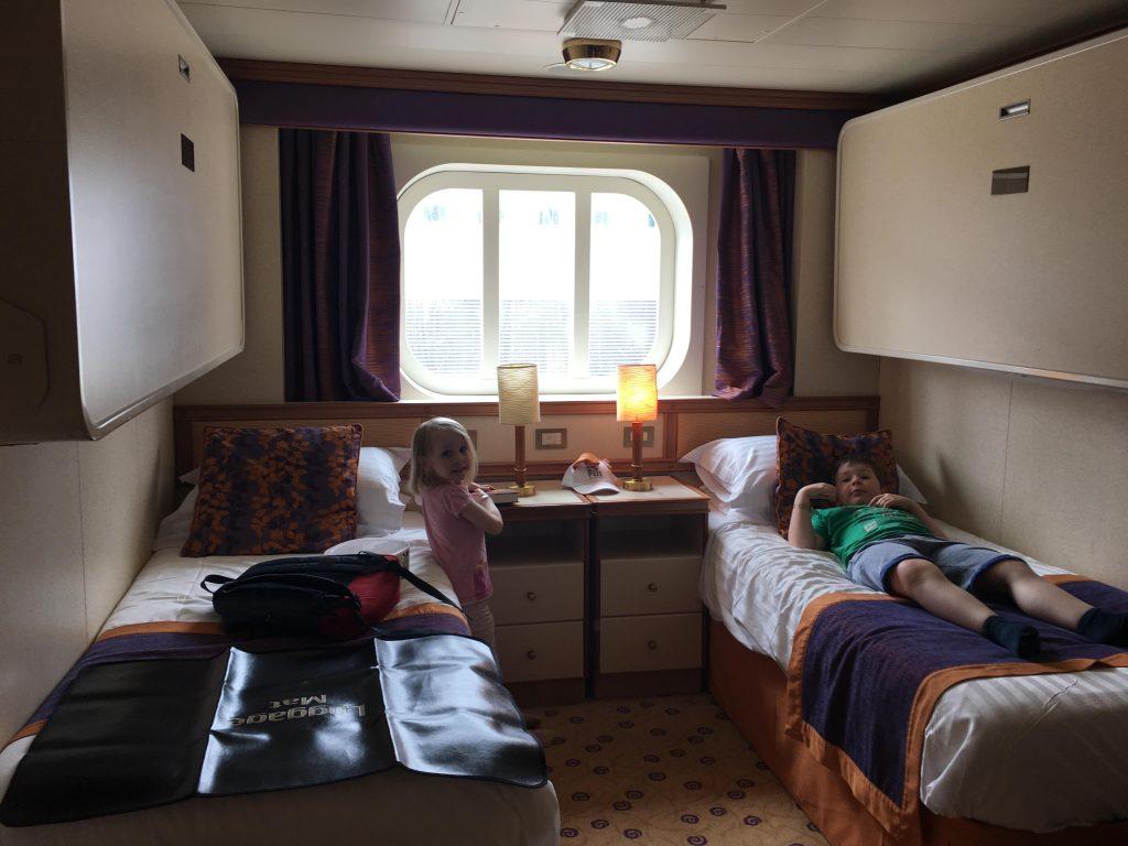 a cabin inside Ventura
